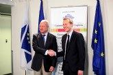 Reunión del presidente Valcárcel y el ministro francés de Industrias Agroalimentarias
