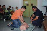 Protección Civil enseña primeros auxilios a los escolares del IES 'Salvador Sandoval'