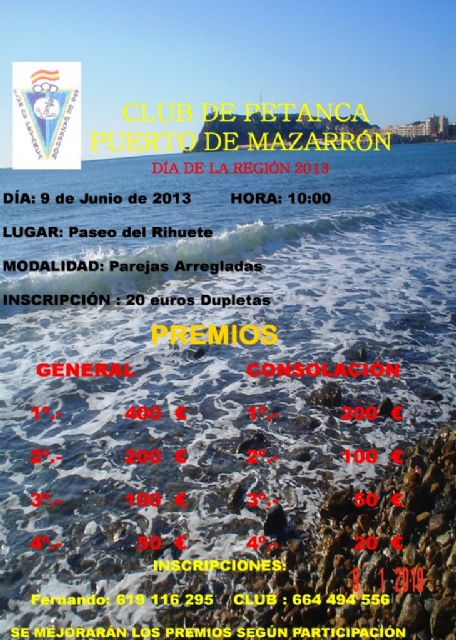 Mazarrón se convierte en junio en el foco nacional de la  petanca, Foto 2
