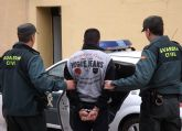 La Guardia Civil detiene a una persona dedicada a cometer robos con violencia e intimidación en Cieza