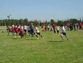 Más de 200 jóvenes promesas del rugby se dan cita en Las Torres de Cotillas