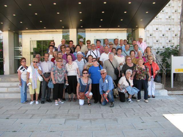 Medio Ambiente lleva a los mayores del municipio a visitar la Casa del Agua, en Santomera - 1, Foto 1
