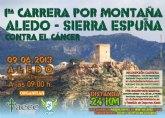 Los mejores corredores de la Región se dan cita el próximo domingo en la I Carrera por Montaña Aledo-Sierra Espuña