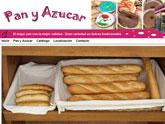 Pan y Az�car estrena su nueva y apetitosa p�gina web, desarrollada con Superweb