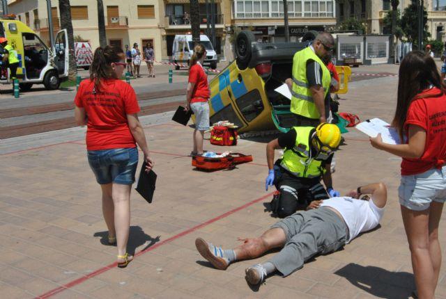 El paseo marítimo de Santiago de la Ribera acogió lo mejor del socorrismo en emergencias durante el fin de semana - 2, Foto 2