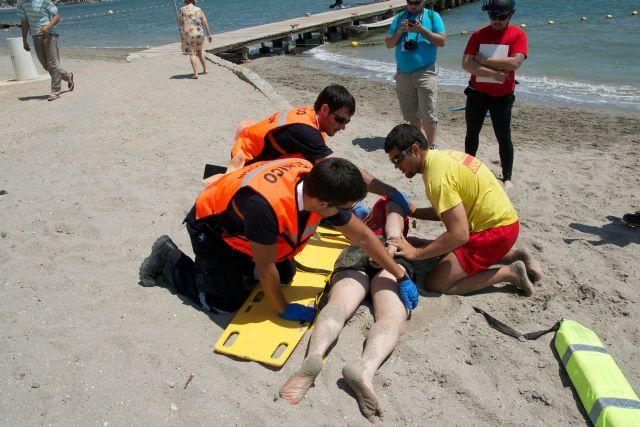 El paseo marítimo de Santiago de la Ribera acogió lo mejor del socorrismo en emergencias durante el fin de semana - 3, Foto 3