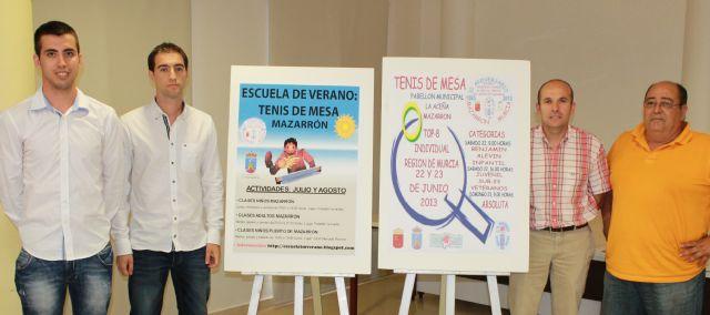 La Escuela de Verano de Tenis de Mesa llega a Puerto de Mazarrón y llama a participar también a los adultos, Foto 1