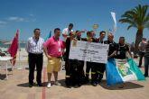 El paseo marítimo de Santiago de la Ribera acogió lo mejor del socorrismo en emergencias durante el fin de semana
