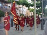 Representantes de Moros y Cristianos de Archena participan en la celebración de la Donación de Calasparra a la Orden de San Juan
