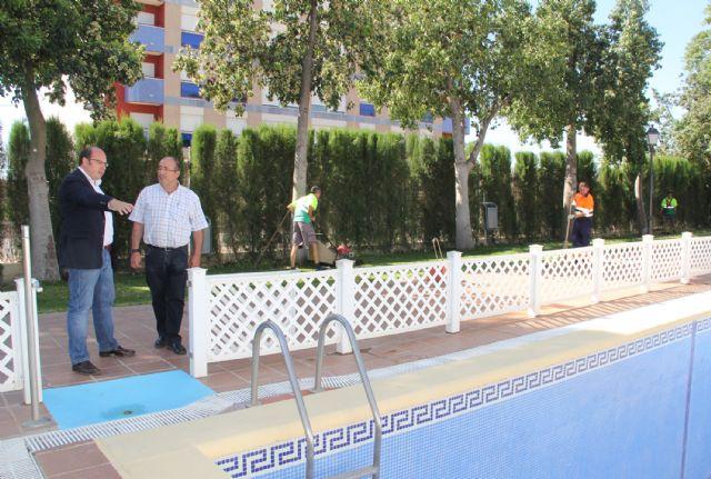 Adecuación de la piscina y zonas exteriores del Parador de Turismo para prestar servicios municipales durante los meses de verano - 1, Foto 1