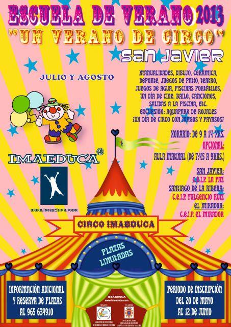 Un verano de circo para niños de 3 a 12 años - 1, Foto 1