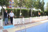 Adecuación de la piscina y zonas exteriores del Parador de Turismo para prestar servicios municipales durante los meses de verano