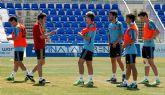 España debuta en la Pinatar Arena Cup