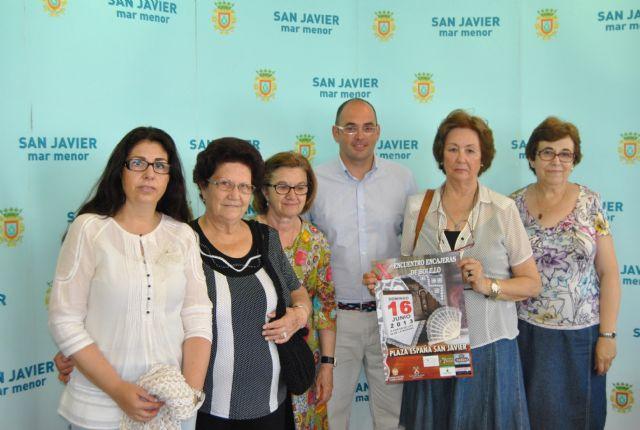 El X Encuentro de Encajeras de Bolillo de San Javier reunirá a más de 200 encajerasde Murcia, Alicante y Albacete - 1, Foto 1