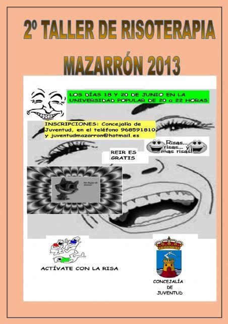 Juventud organiza una nueva edición del taller de risoterapia, Foto 2