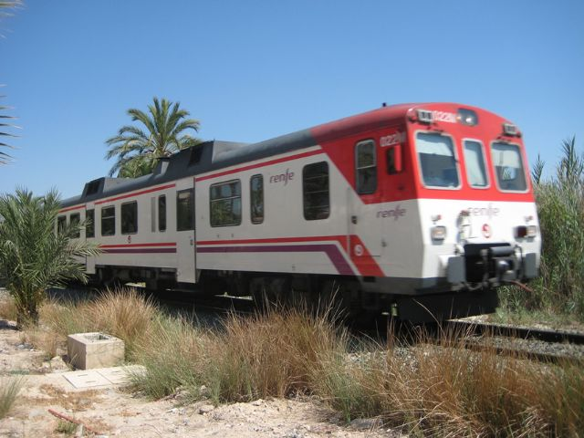 IU-V Puerto Lumbreras reclama la modernización de la vía ferroviaria Murcia-Águilas - 1, Foto 1