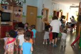 El Ayuntamiento de Molina de Segura lleva a cabo un simulacro de evacuación por incendio en la Escuela Infantil Consolación