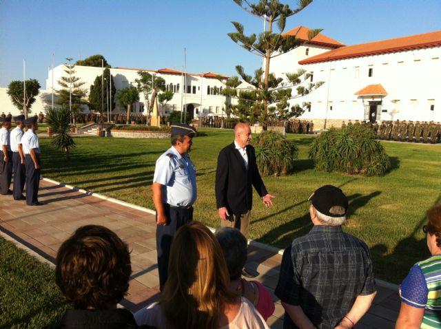 El Alcalde acompañó hoy a los vecinos en la última de las visitas guiadas a la AGA con motivo del 125 Aniversario de Santiago de la Ribera - 1, Foto 1