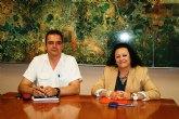 Obras Públicas y el Ayuntamiento de Ricote estudian el Área de Rehabilitación Integral del municipio