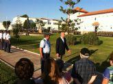 El Alcalde acompañó hoy a los vecinos en la última de las visitas guiadas a la AGA con motivo del 125 Aniversario de Santiago de la Ribera