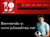 Julio Salinas conf�a en Superweb para su p�gina web oficial