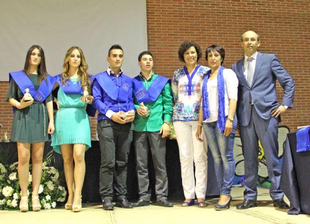 El IES Rambla de Nogalte celebra la graduación de más de un centenar de alumnos de Bachillerato y Ciclos Formativos - 2, Foto 2