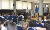 El IES Manuel Tárraga Escribano recibe a 15 alumnos ingleses de intercambio