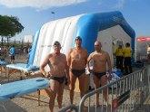 El totanero José Miguel Cano participó en el campeonato de España master de natación de verano, en Report Olayitas (Fuenteventura).