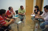 Autoridades municipales se reúnen con la Junta Directiva del Ilustre Cabildo Superior de Procesiones
