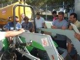 La concejalía de Fomento del Empleo continúa con la formación especializada a agricultores con el curso de manejo seguro del tractor