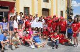 Alumnos del C.P. Sagrado Corazón donan a Cáritas los beneficios económicos que han obtenido a través de las cooperativas escolares del proyecto  'Emprender en Mi Escuela'