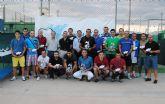 La liga de tenis de Las Torres de Cotillas entrega sus premios