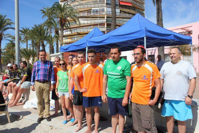 Ocho equipos regionales de personas con enfermedad mental se disputan hoy la IV Copa Feafes de fútbol en la playa de Santiago de la Ribera - 1, Foto 1