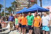 Ocho equipos regionales de personas con enfermedad mental se disputan hoy la IV Copa Feafes de fútbol en la playa de Santiago de la Ribera