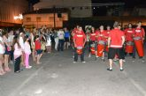 Las barracas festivas de San Pedro del Pinatar arrancan a ritmo de batucada