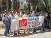 IU-Verdes Alhama mostr� su apoyo a los trabajadores de ElPozo Alimentaci�n