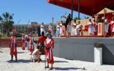 Más de 130 corredores sortean los 54 obstáculos de la carrera popular Pinatarius Obstaculum Cursus