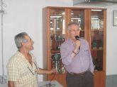 Calderón visitó las instalaciones del local social de Vista Alegre