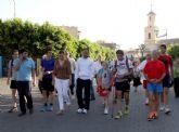 Juan Belda inicia su camino a pie hasta la plaza de toros de Las Ventas de Madrid