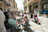 Una oleada de turistas llega a Cartagena a bordo del mayor crucero del Mediterráneo