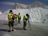 La televisión japonesa rueda en San Pedro del Pinatar un programa sobre turismo termal