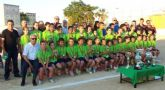 Clausura de la temporada deportiva de los clubes de fútbol base de Cartagena
