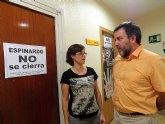 Rechazo rotundo al cierre del centro ocupacional de Espinardo