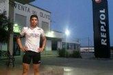 Juan Belda cubre 45 kilómetros hasta el término municipal de Cieza