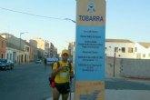 Juan Belda recorre 42 kilómetros y hará noche en la localidad albaceteña de Tobarra
