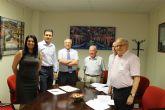 Un año m�s, el Ayuntamiento firma el convenio con la Fundaci�n Francisco Munuera en cuyas instalaciones tiene lugar el servicio de Atenci�n Psicosocial