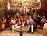 El Taller de Guitarra, La�d y Bandurria despide el curso cantando una misa en La Santa