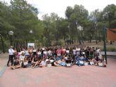 Los corresponsales juveniles de San Javier despiden el curso con sus colegas de otros municipios en un Encuentro celebrado en el Albergue Juvenil del Valle