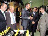 Alarte elogió la apuesta  inversora y de generación de riqueza en tiempos de crisis, durante la inauguración de un nuevo supermercado en San Javier