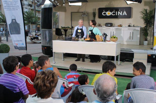 El Canal Cocina se deleita con la gastronomía y el patrimonio de Mazarrón, Foto 1